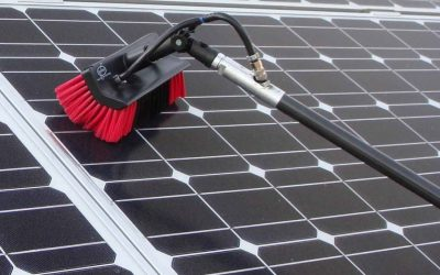 Why is it essential to keep solar panels clean?